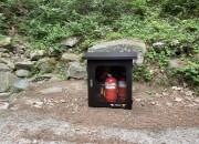 20200522 경주소방서, 국립공원 등산로 '산불예방' 소화기함 설치(5)