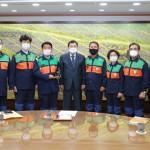 태풍 피해 현장서 구슬땀 흘린 '경북안전기동대'에 감사패 전달